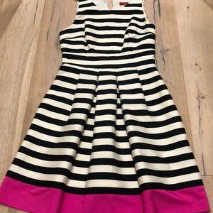 Red by Saks Fifth Avenue stripe dress